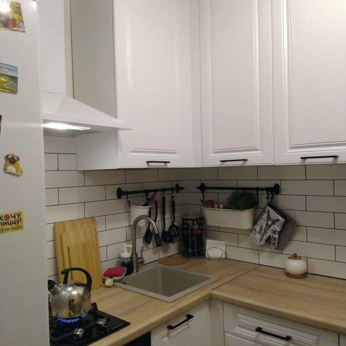 кухни дизайн проекты 6 кв метров в хрущевке