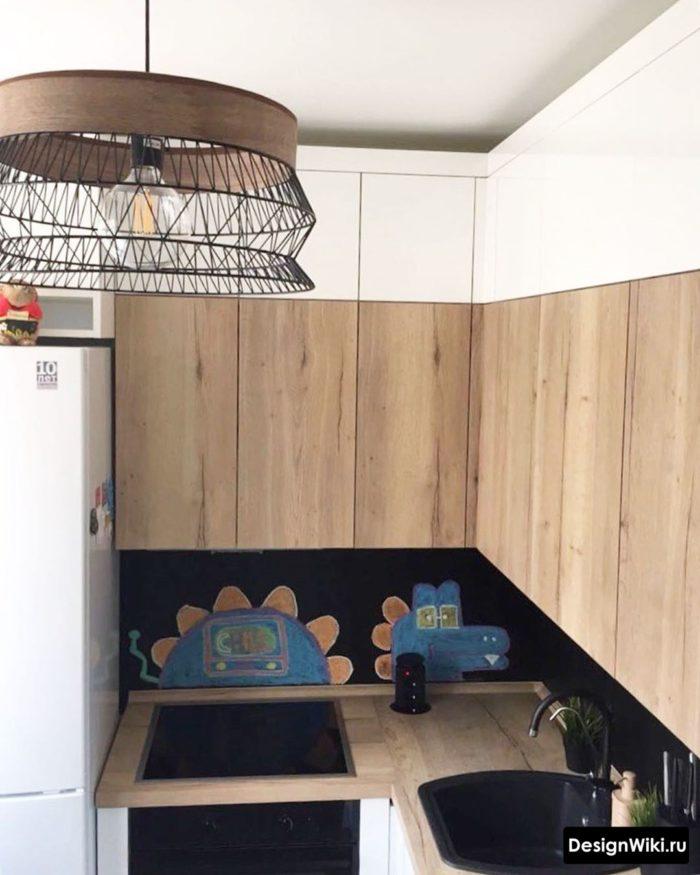 кухни дизайн угловые маленькие