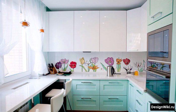 кухни на 6 метровую кухню угловые