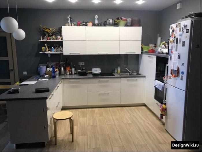 кухни п образные 12 кв метров