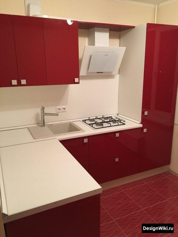 кухни угловые на 9 кв
