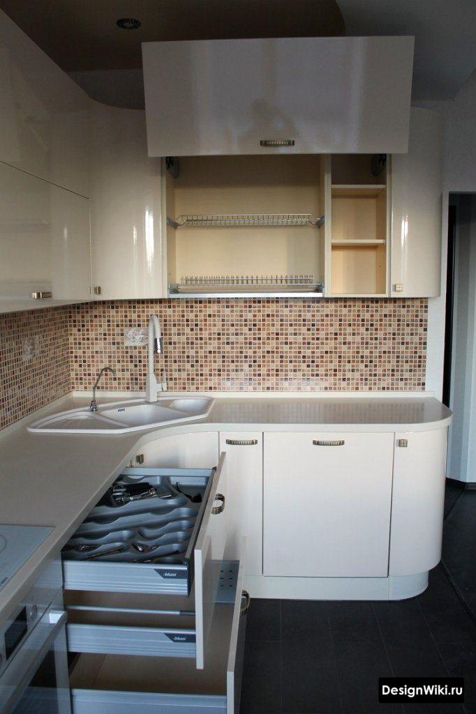 кухня дизайн интерьер 6 кв метров