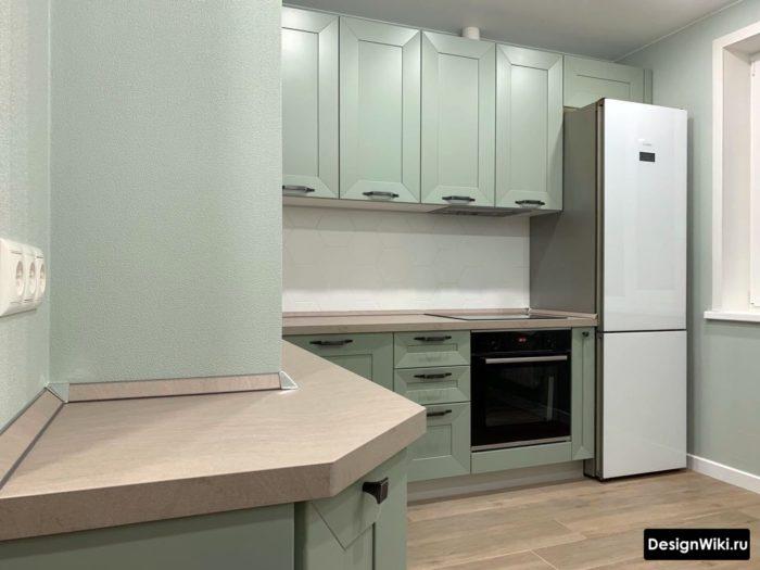 кухня дизайн интерьер 6 кв