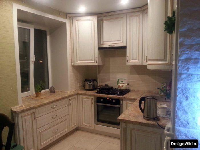 кухня для хрущевки 5 6 кв м
