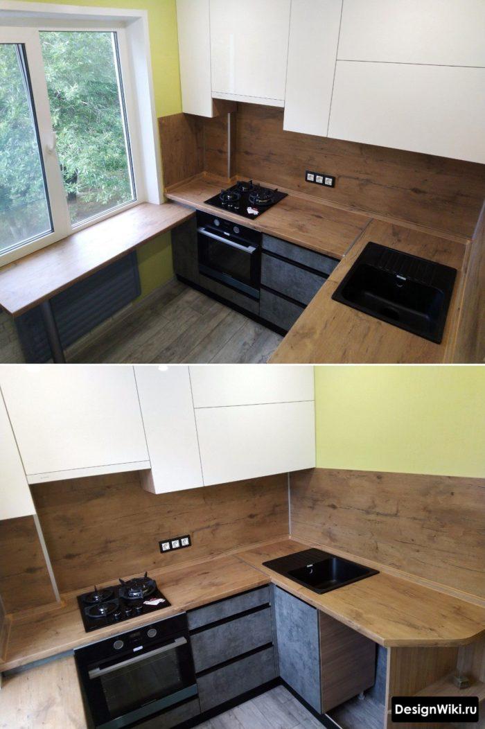 кухня для хрущевки 5 6 кв