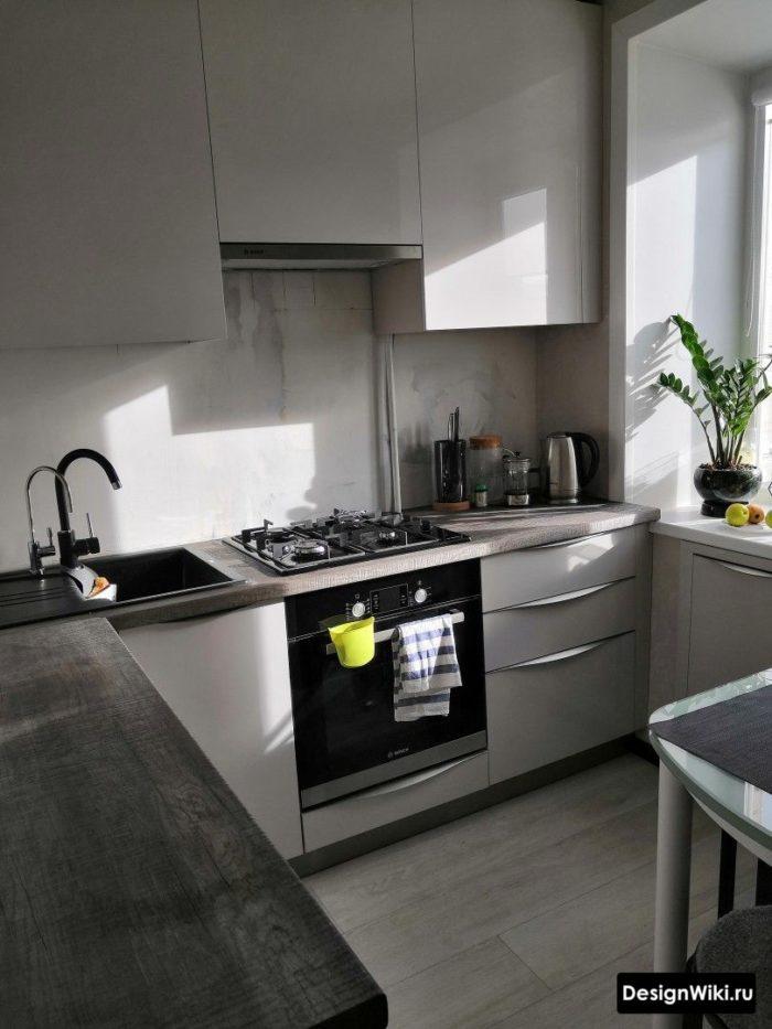 кухня на 6 кв м