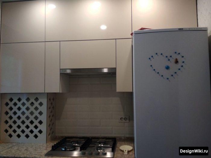 кухня ремонт дизайн 6 кв м