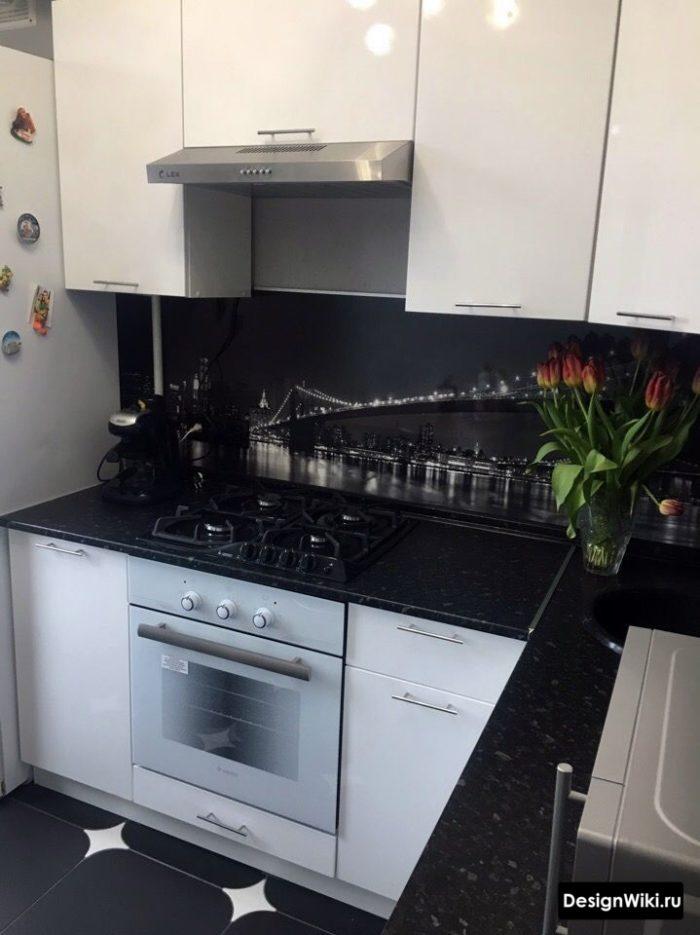 кухня хрущевка 6 кв
