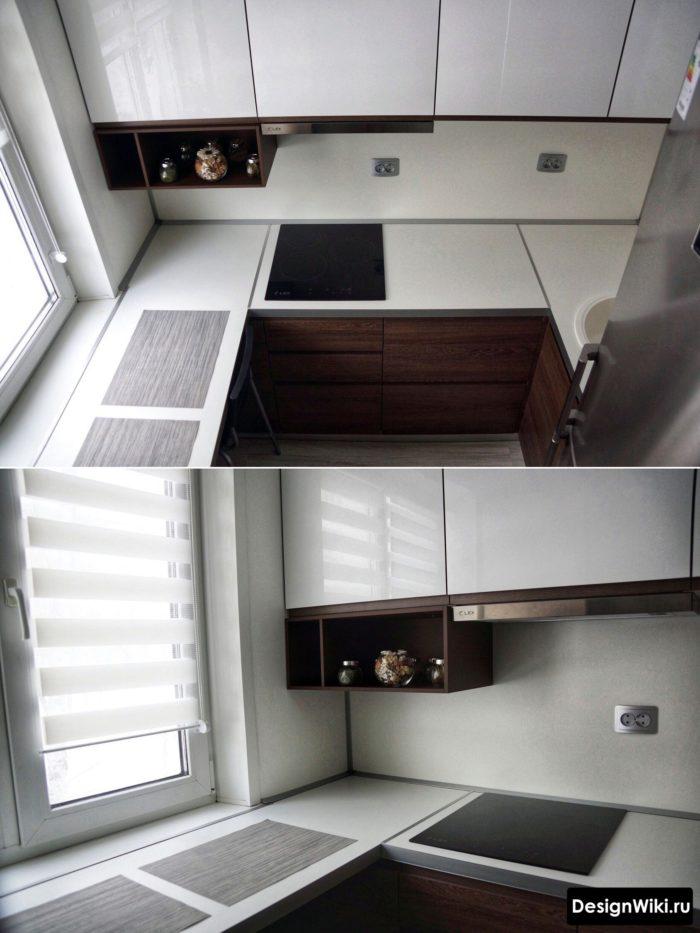 кухня 2 на 3 метра дизайн