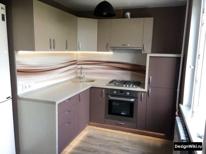 кухня 6 квадратов дизайн