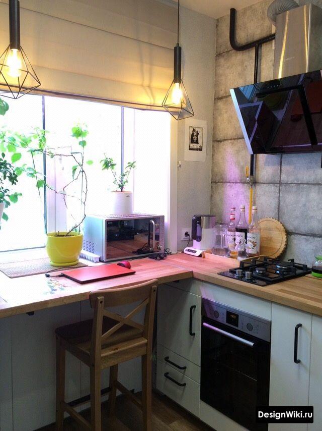 кухня 6 кв м дизайн