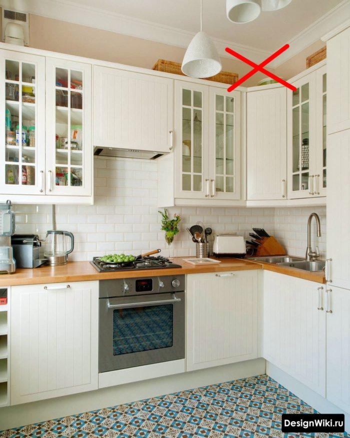 кухня 6 метров дизайн в реальной квартире с холодильником