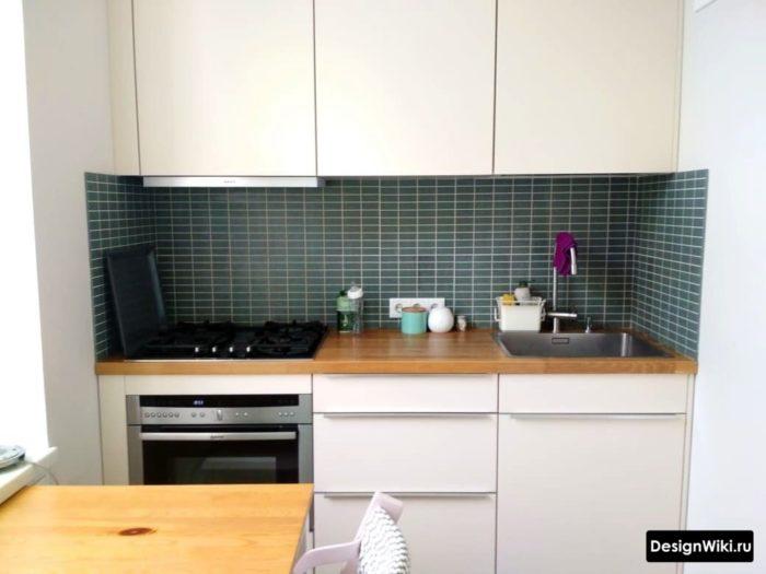 кухня 6 метров дизайн в реальной квартире
