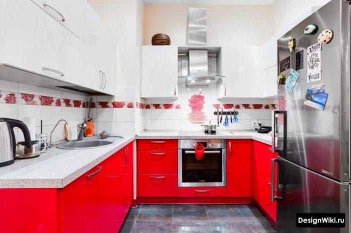 кухонных гарнитуров угловых современных кухонь