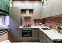 маленькие кухни дизайн 6 кв м