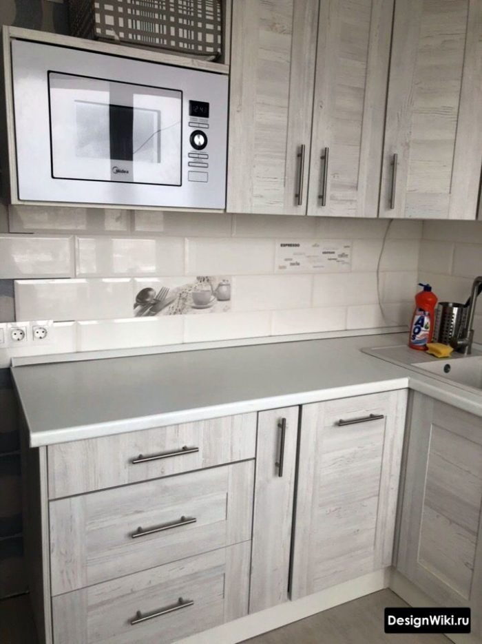 малогабаритные кухни 6 кв м угловые