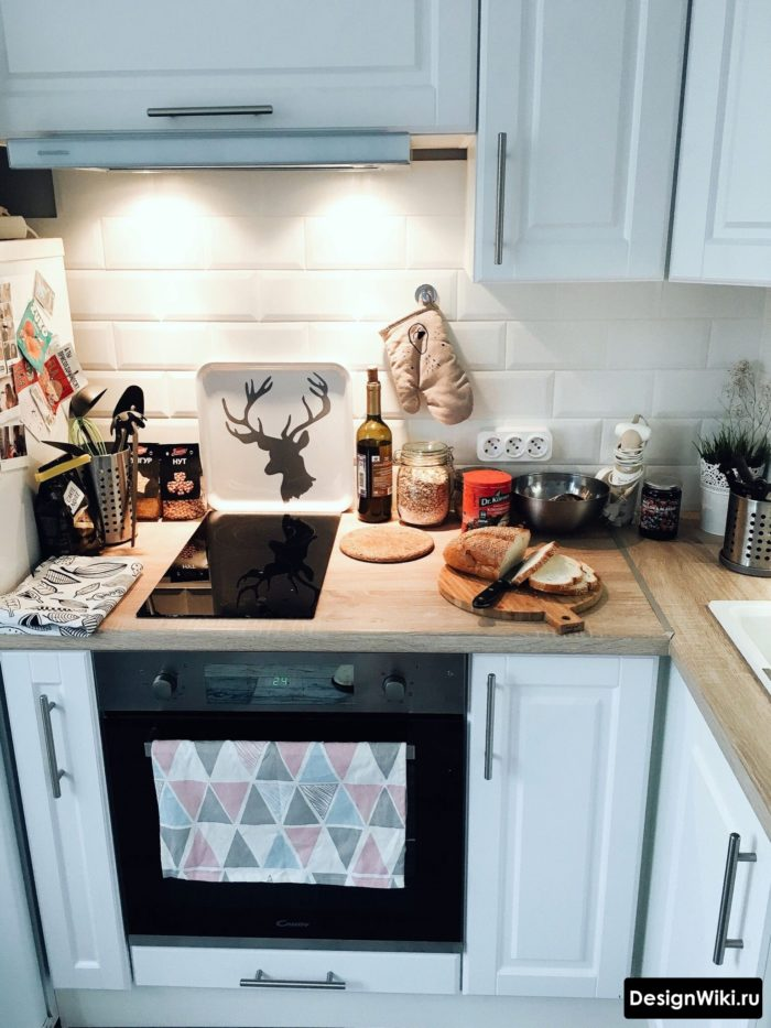 мебель для маленькой кухни 6 кв м