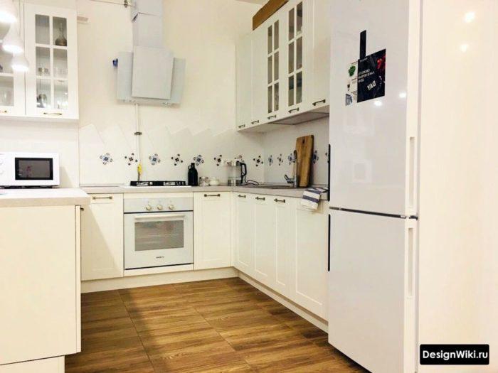мебель для кухни буквой г