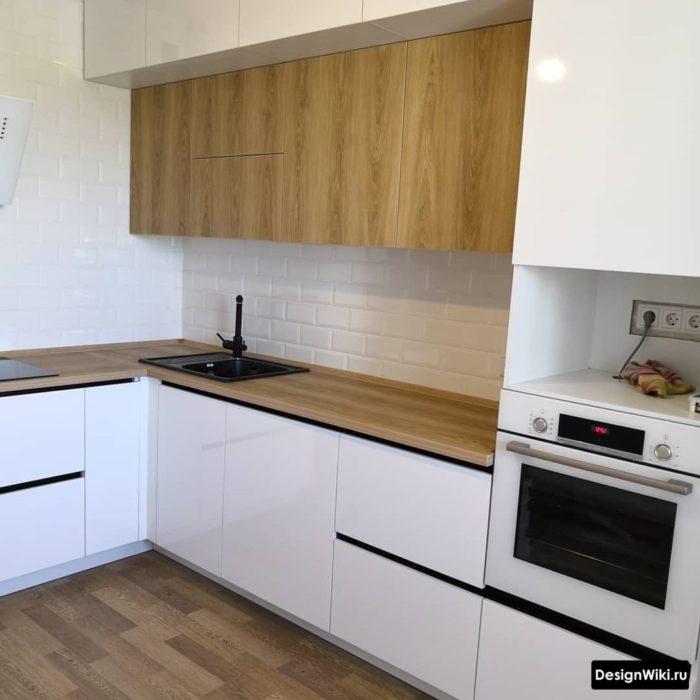 небольшие угловые кухни