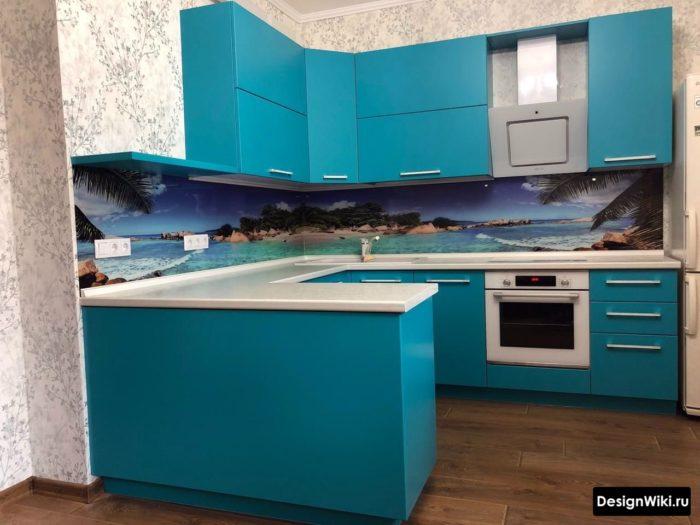 п образные кухни в современном стиле