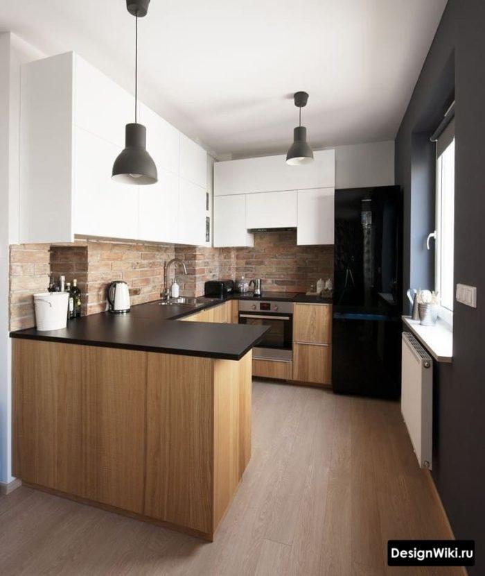 п образные кухни современный стиль