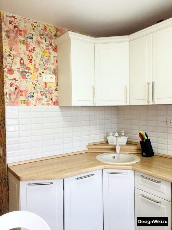 ремонт в маленькой кухне 6 кв м