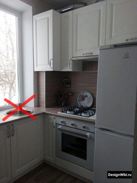ремонт кухни 6 метров