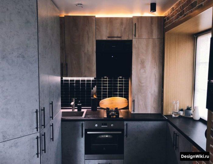 ремонт на кухне 6 кв м