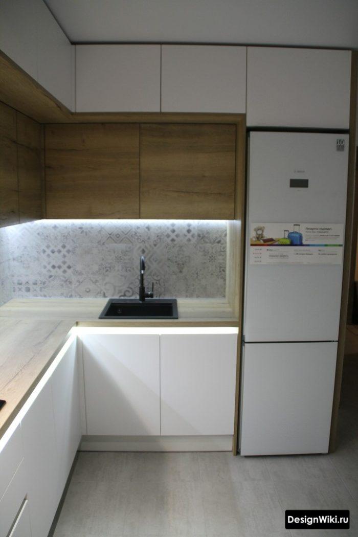 современные кухни угловые