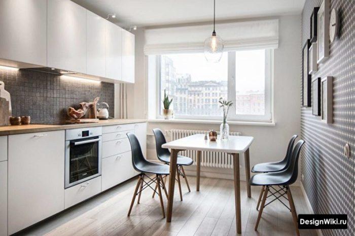 варианты ремонта кухни 9 кв м