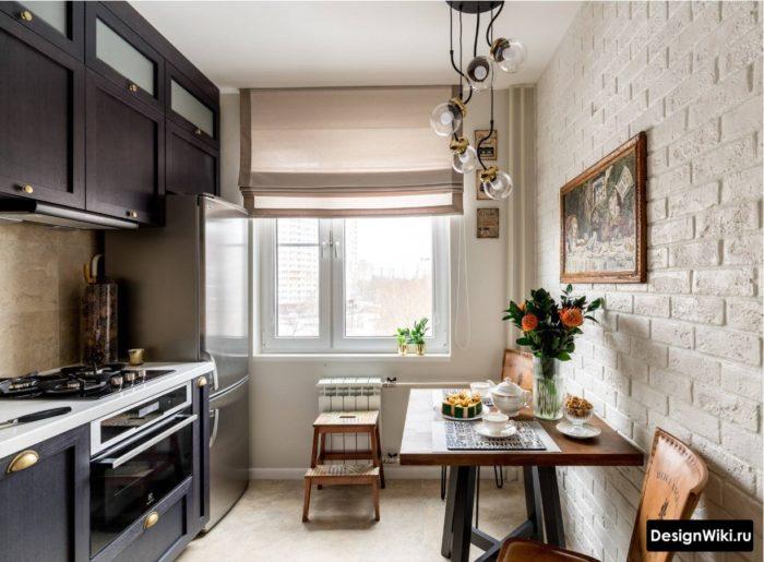 дизайн кухни галерея интерьера 9 кв м