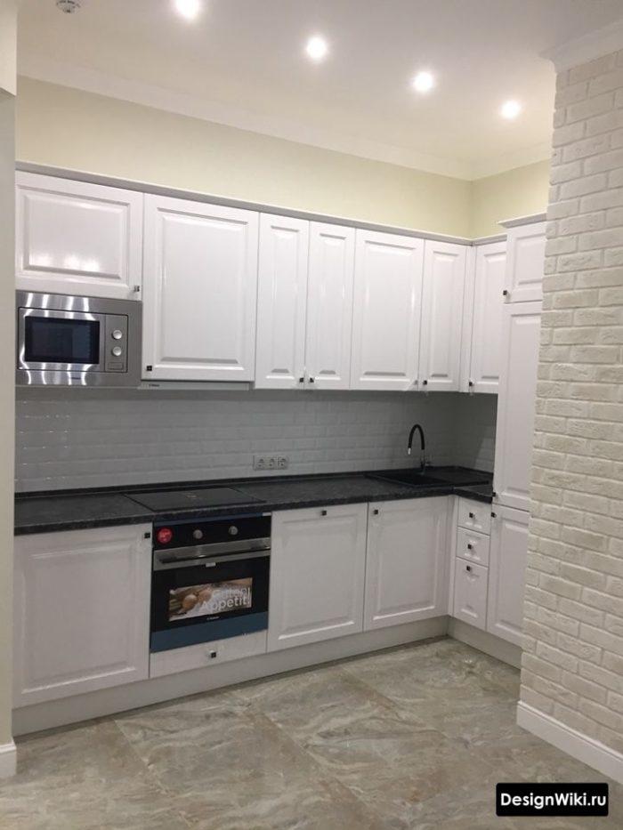 дизайн кухни в панельном доме 9 кв м