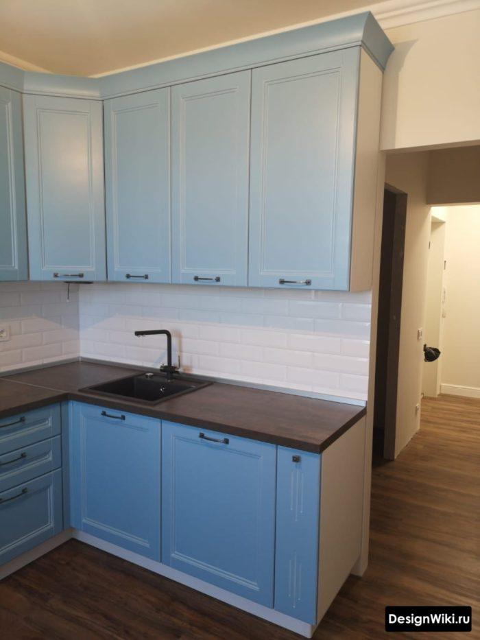дизайн кухни 9 кв м в панельном доме