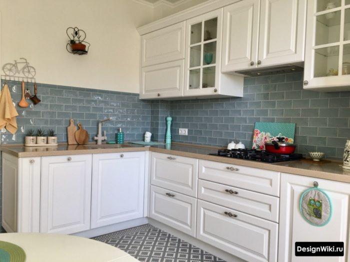 дизайн кухни 9 кв м квадратная