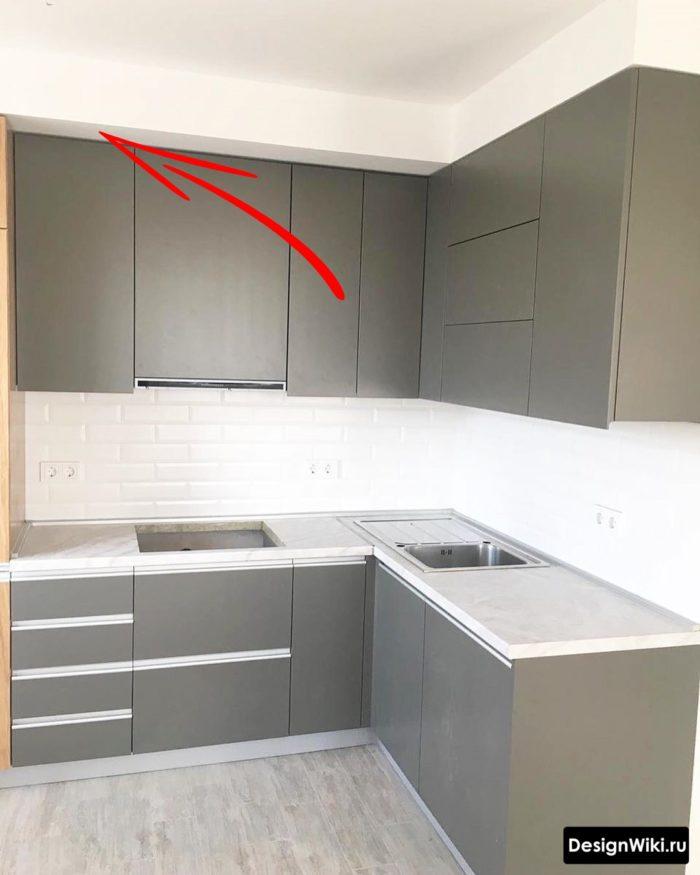 дизайн кухни 9 метров в панельном доме