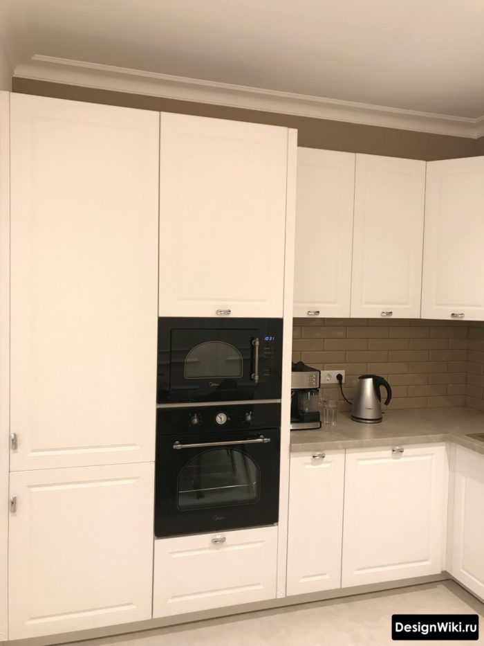 дизайн проект кухни 9 кв м