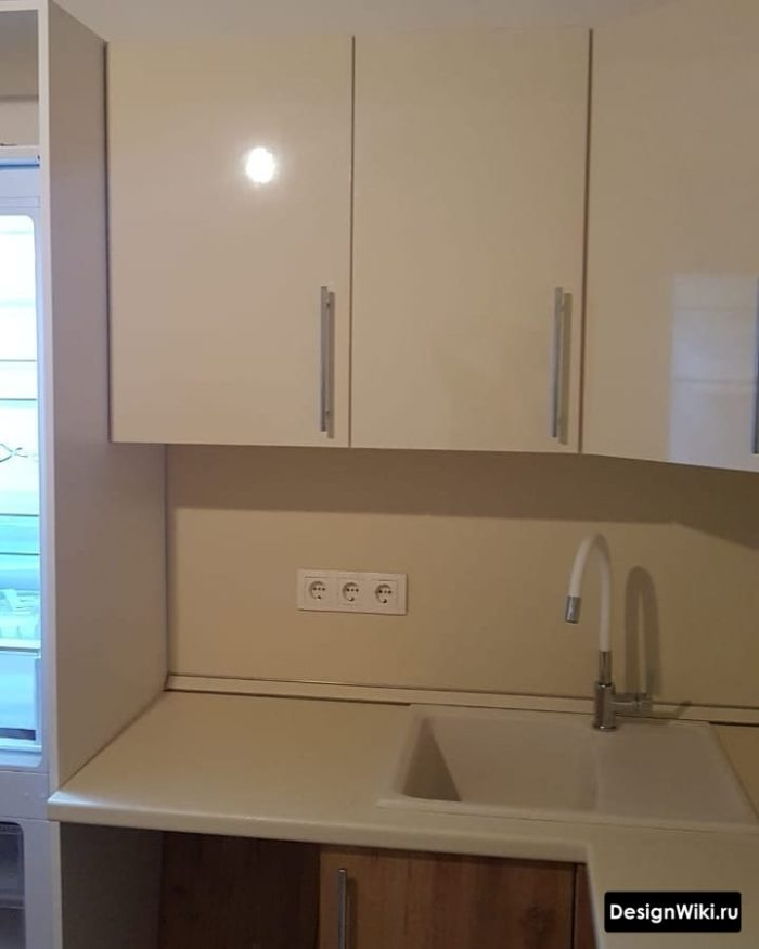 кухня дизайн интерьер 9 кв метров