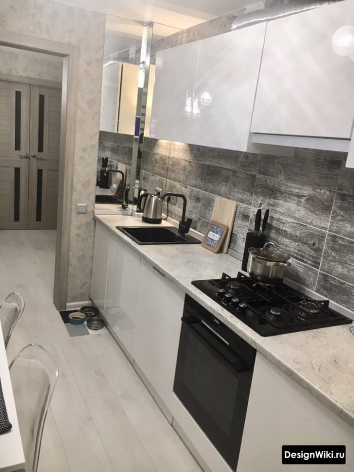 кухня дизайн интерьер 9 кв