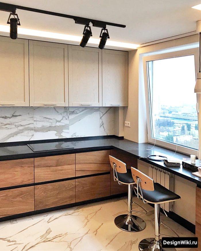 кухня интерьер 9 кв метров