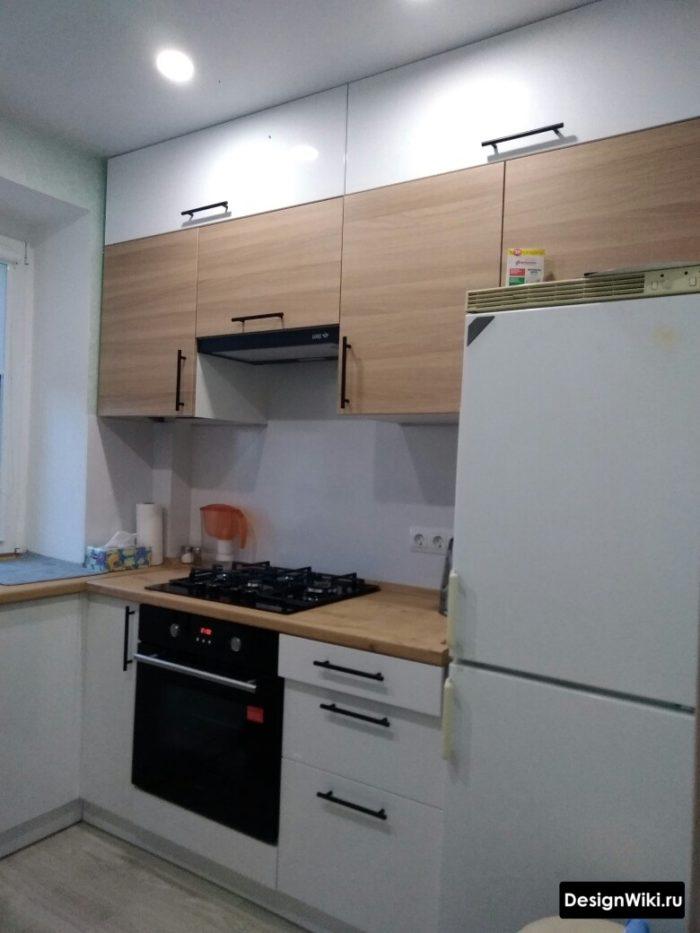 кухня 9 метров до потолка