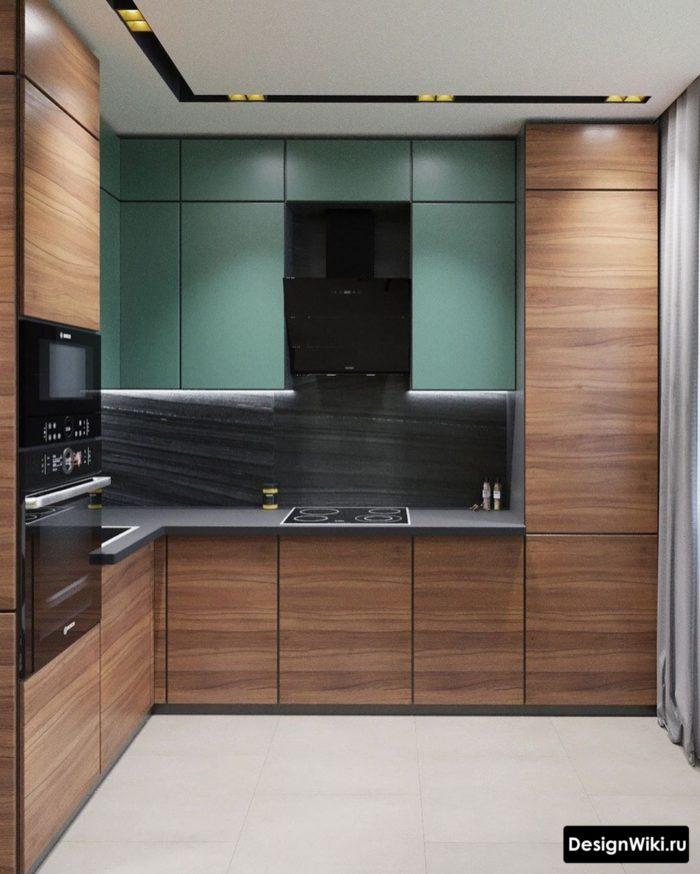 кухонный гарнитур для кухни 9 кв м
