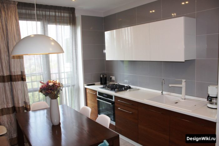 ремонт кухни 9 кв м стены и полы потолок