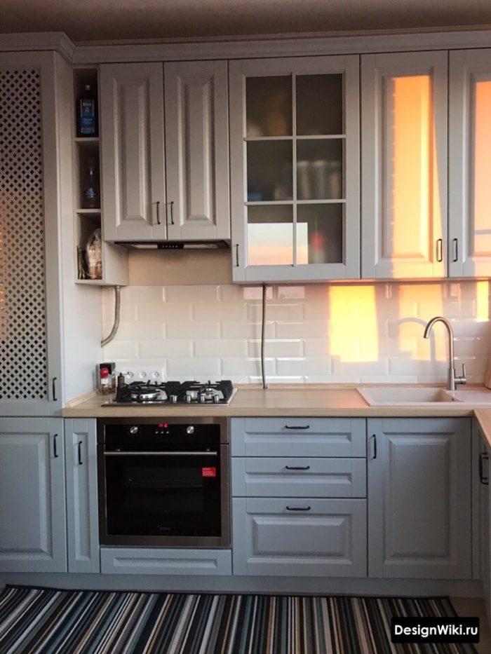 ремонт кухни 9 кв