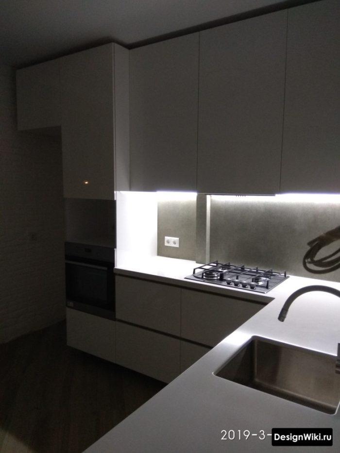 ремонт на кухне 9 кв м