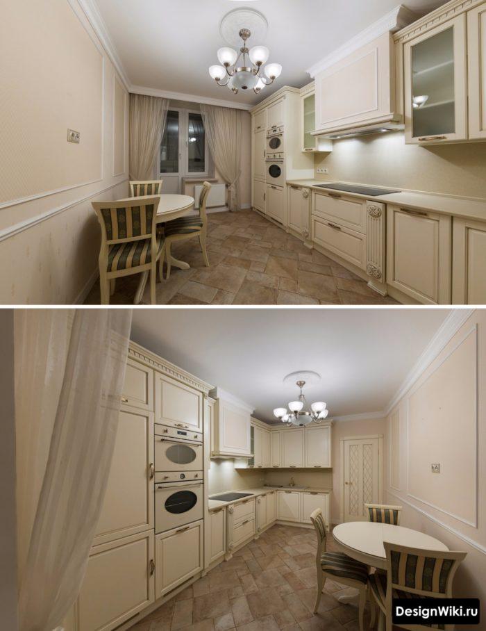 классические фасады для кухни