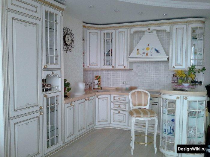 стильные кухни английская классика