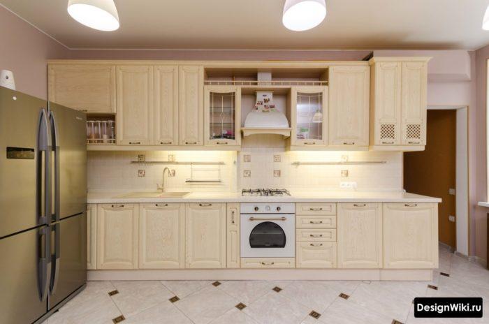 шторы в кухню современная классика