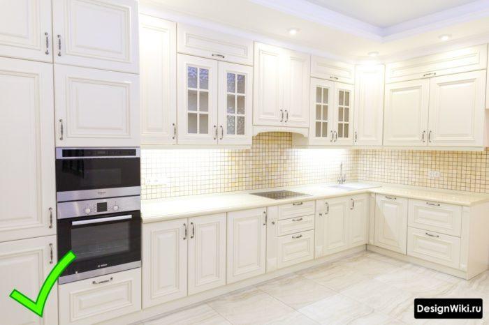 шторы для классической кухни дизайн