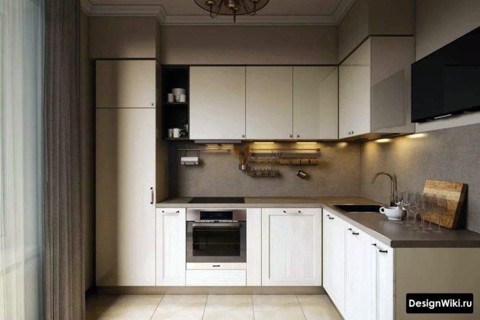 дизайнер кухни 10 кв м