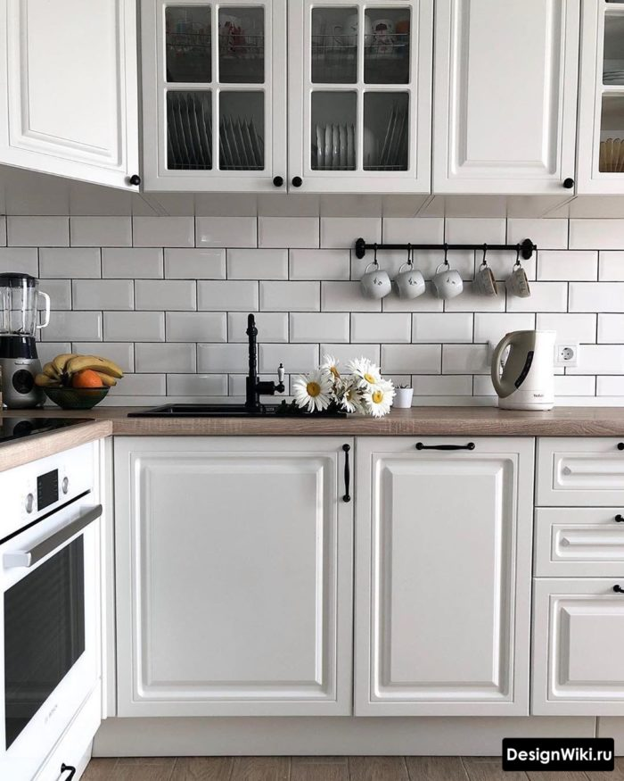 дизайн кухни в квартире 12